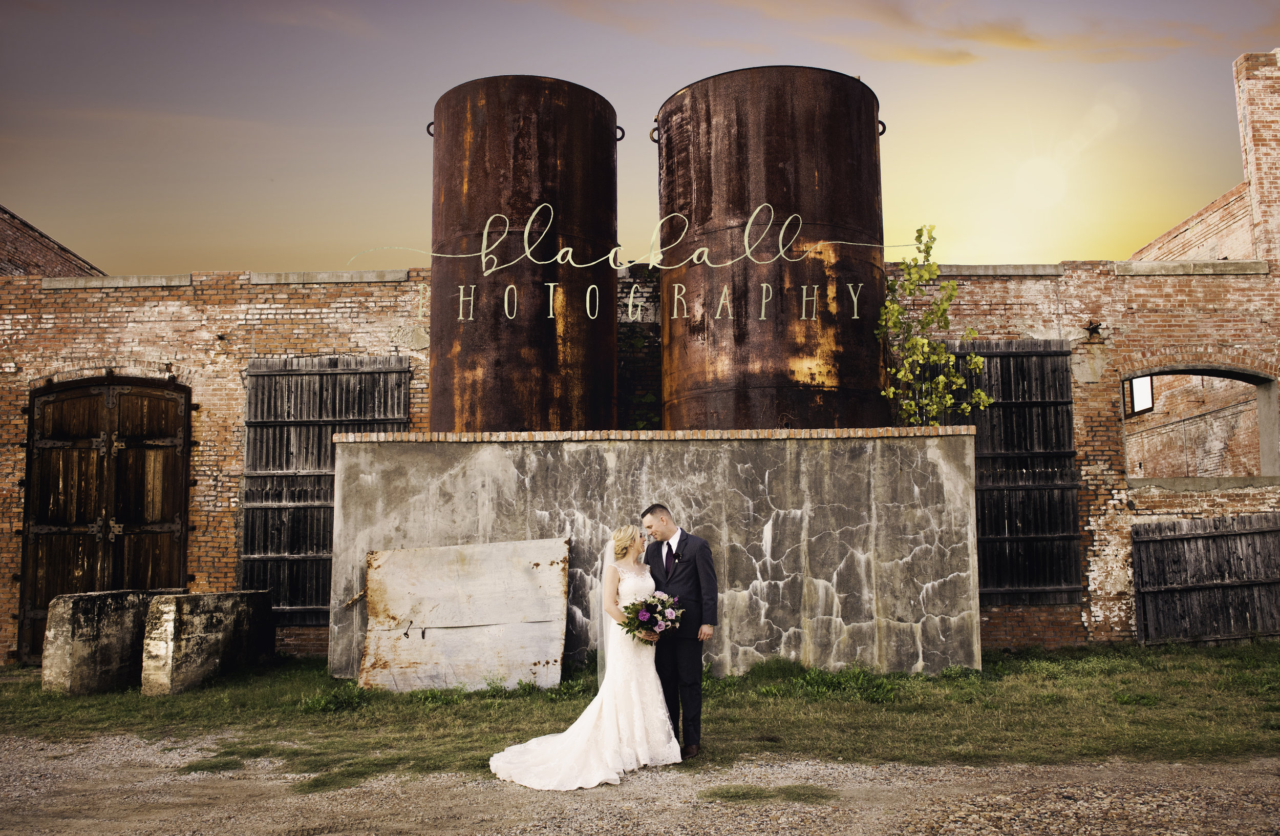 Wedded Bliss at The McKinney Cotton Mill- Blackall Photography