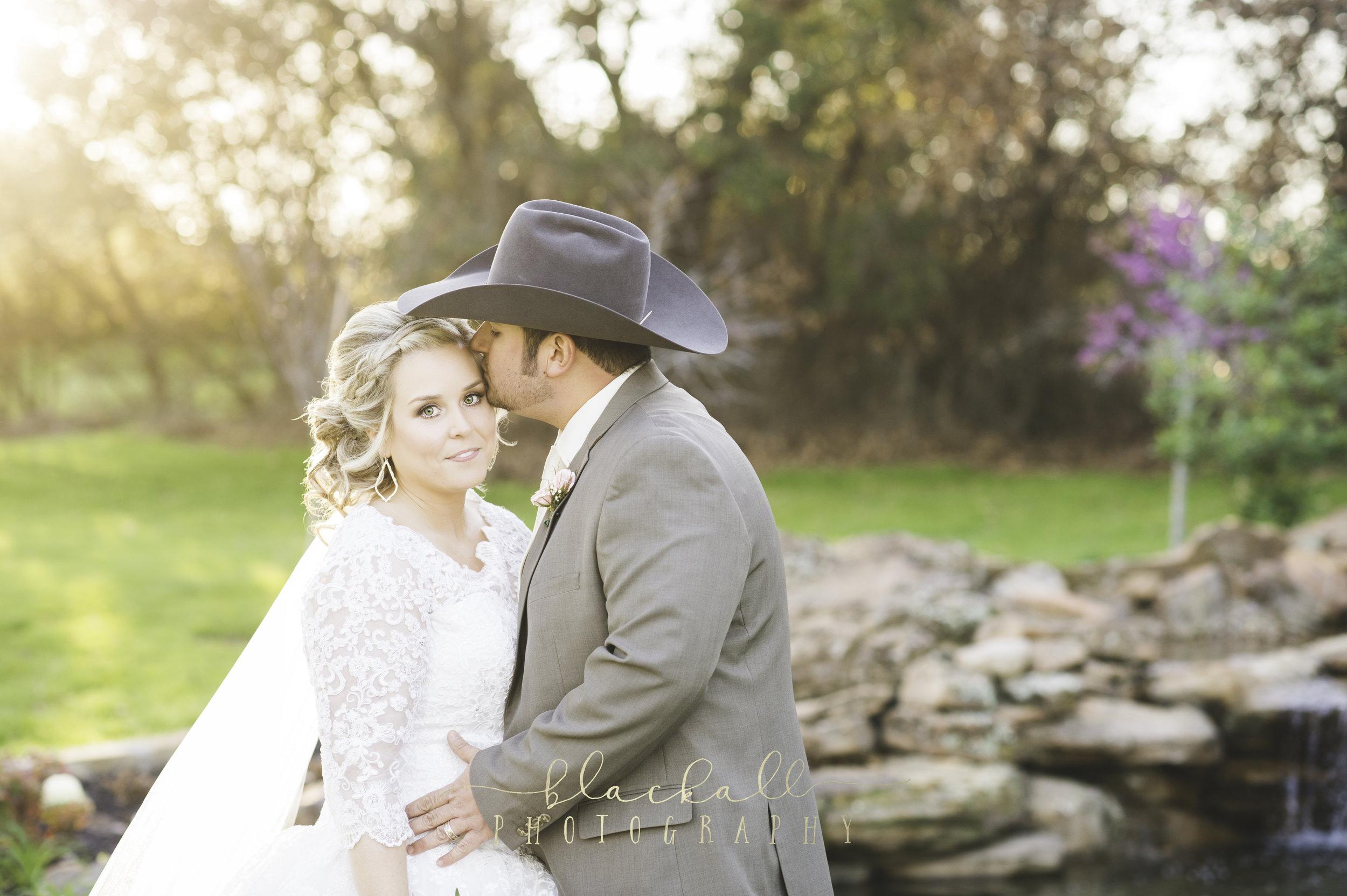 Cassie + Roy on their wedding day. February 25, 2017
