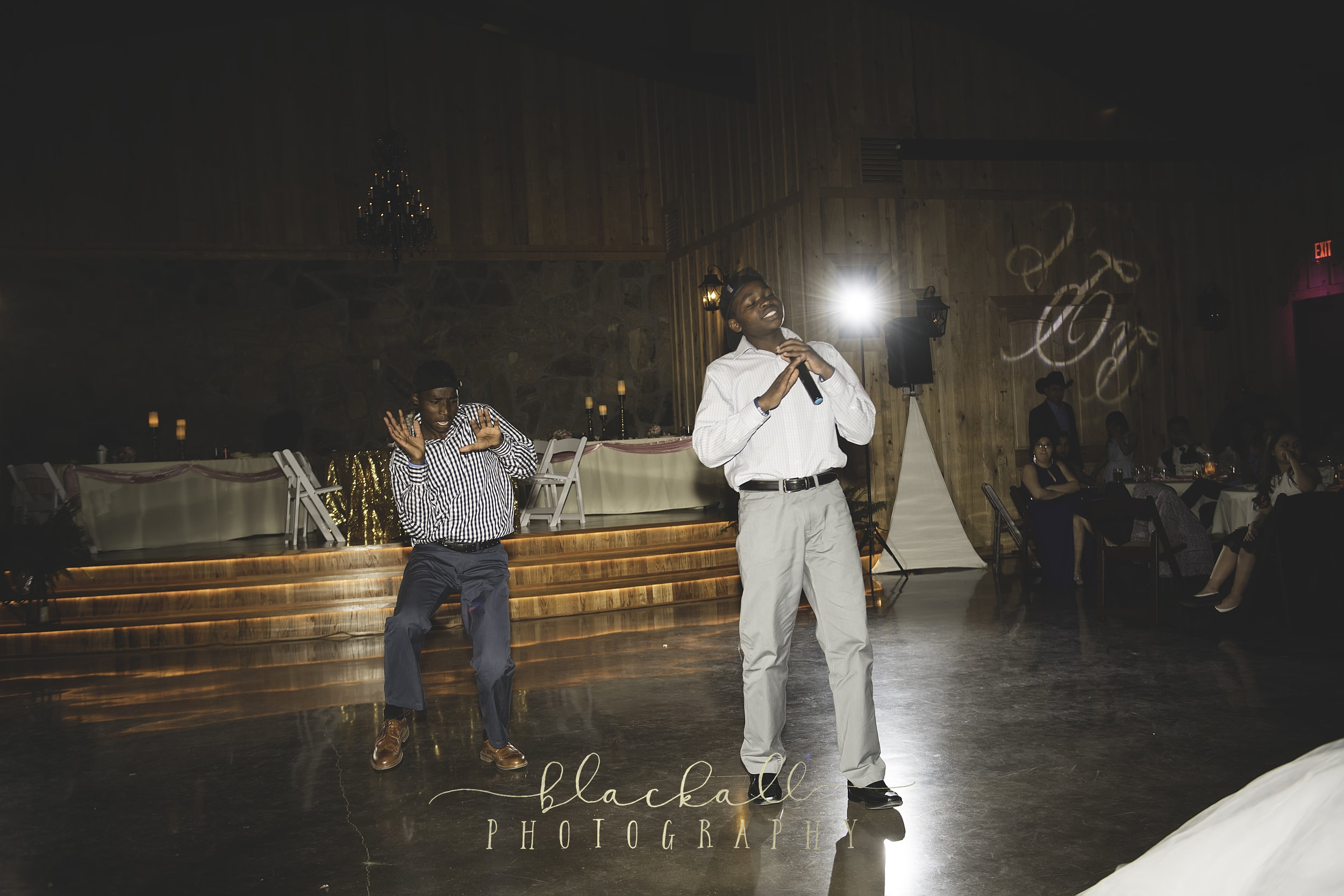 Such an honor to watch these two guys! They gifted the bride + groom with a special ugandan dance!