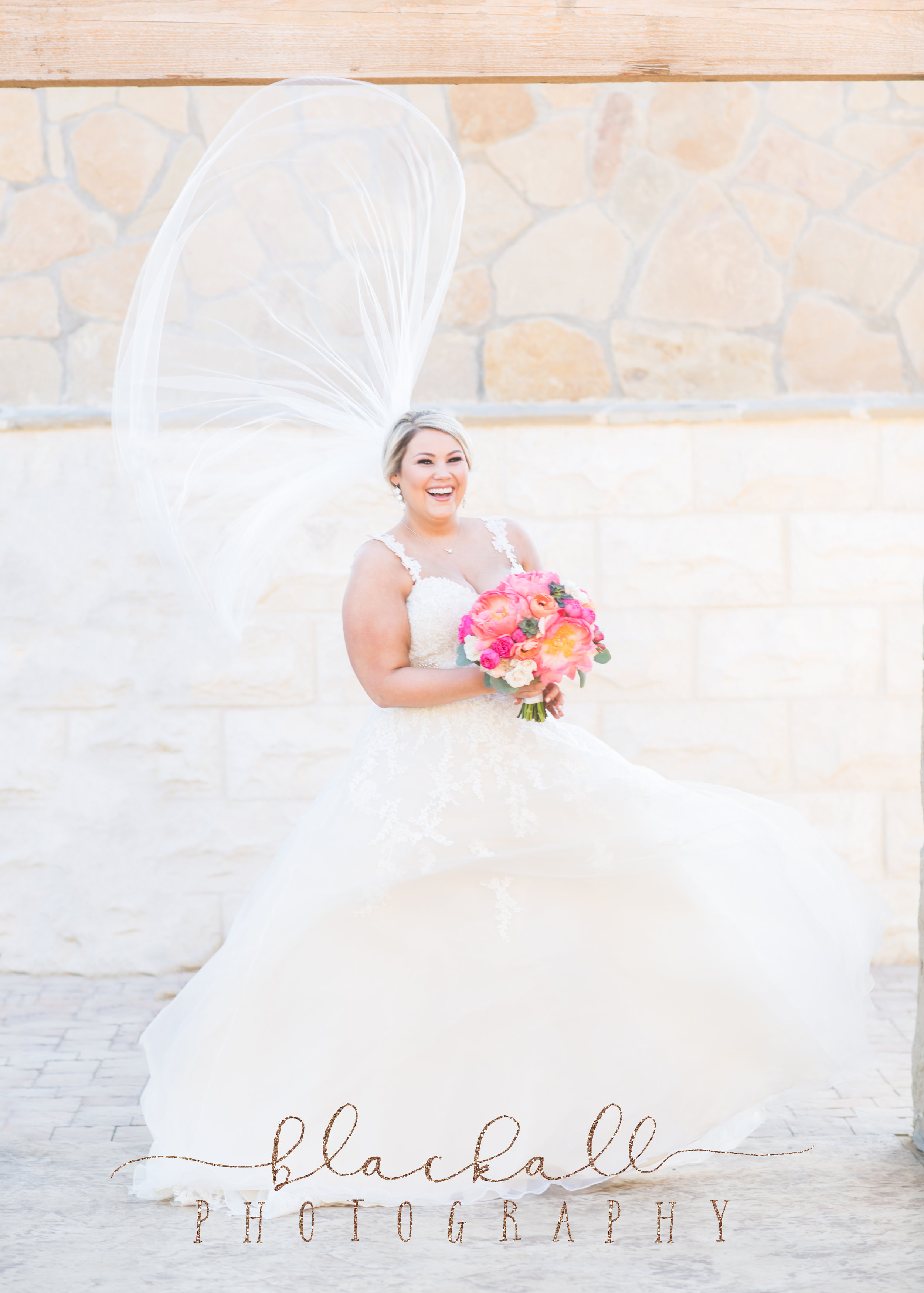 When the wind catches your veil just right!