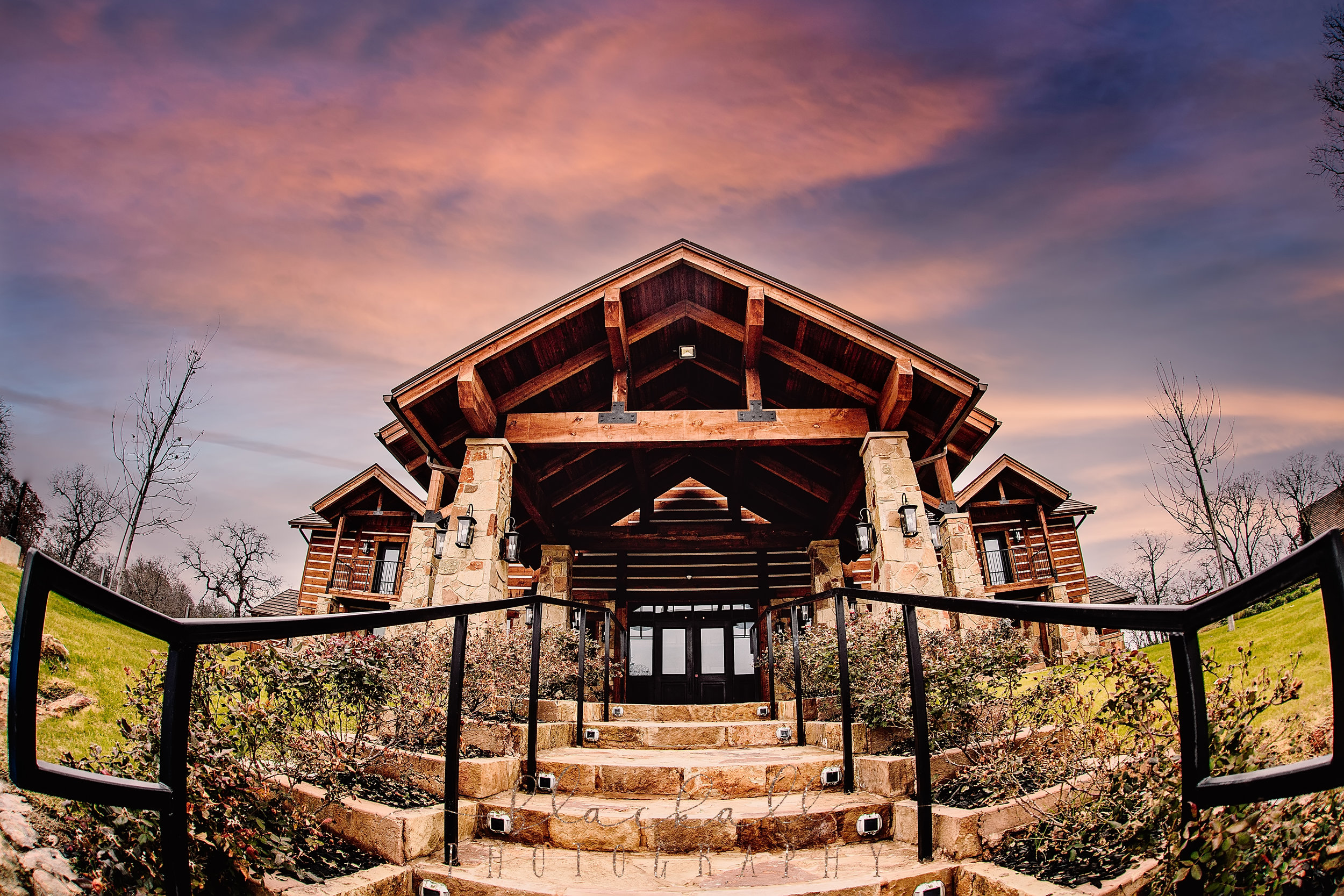 The Lodge at The Springs in Denton is rustic elegance at its finest.