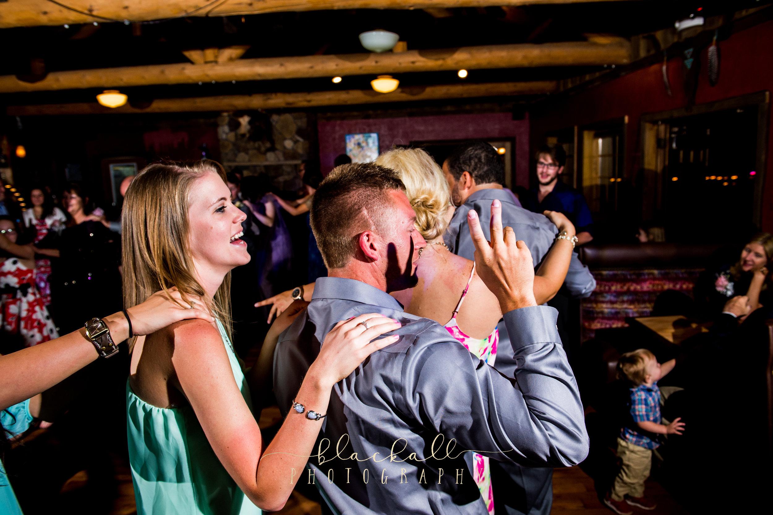 Photo of Sarah & Taylor at Matt & Caity's reception! Cuchara, Co. 2015