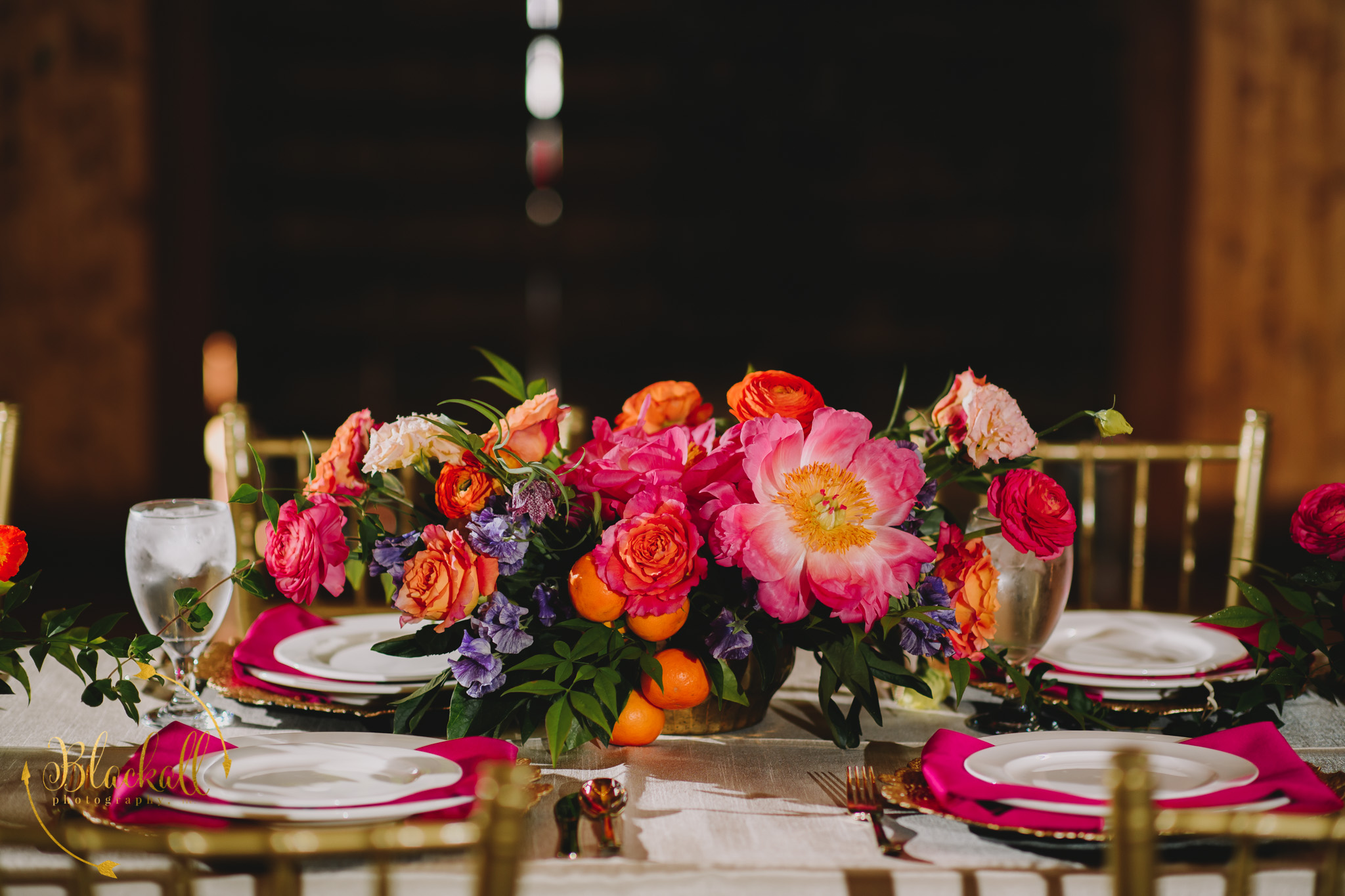 We + You designed the most beautiful tablescape for us!