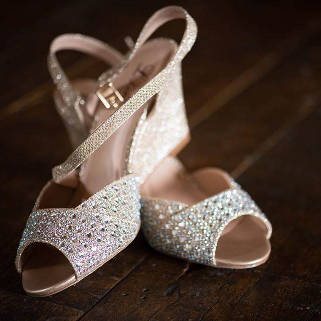Cinderella wasn't the only one who wore sparkly slippers to the dance.
