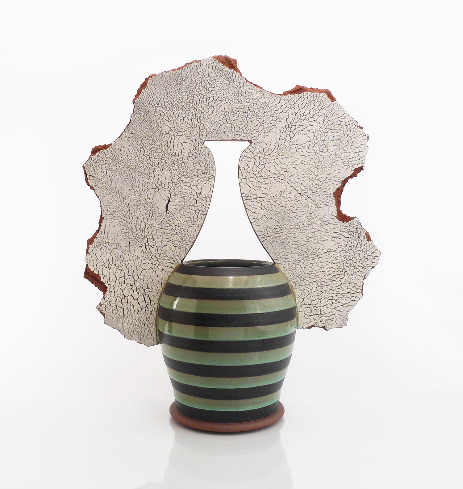 Shardware vase (bottle)