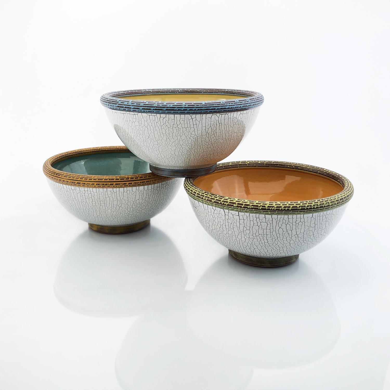 Deluxe Crackle Ramen Bowls
