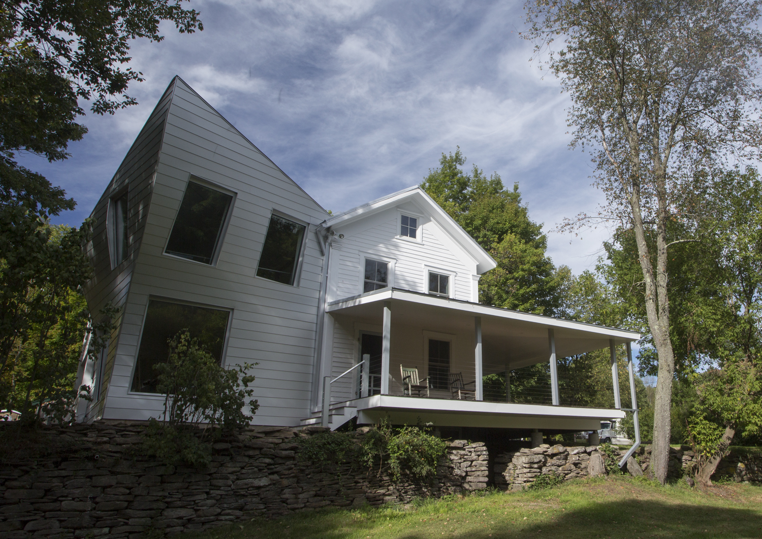 Tom Givone, Twist Farmhouse torqued volume designer and owner of the Floating Farmhouse in the Catskills, upstate New York.