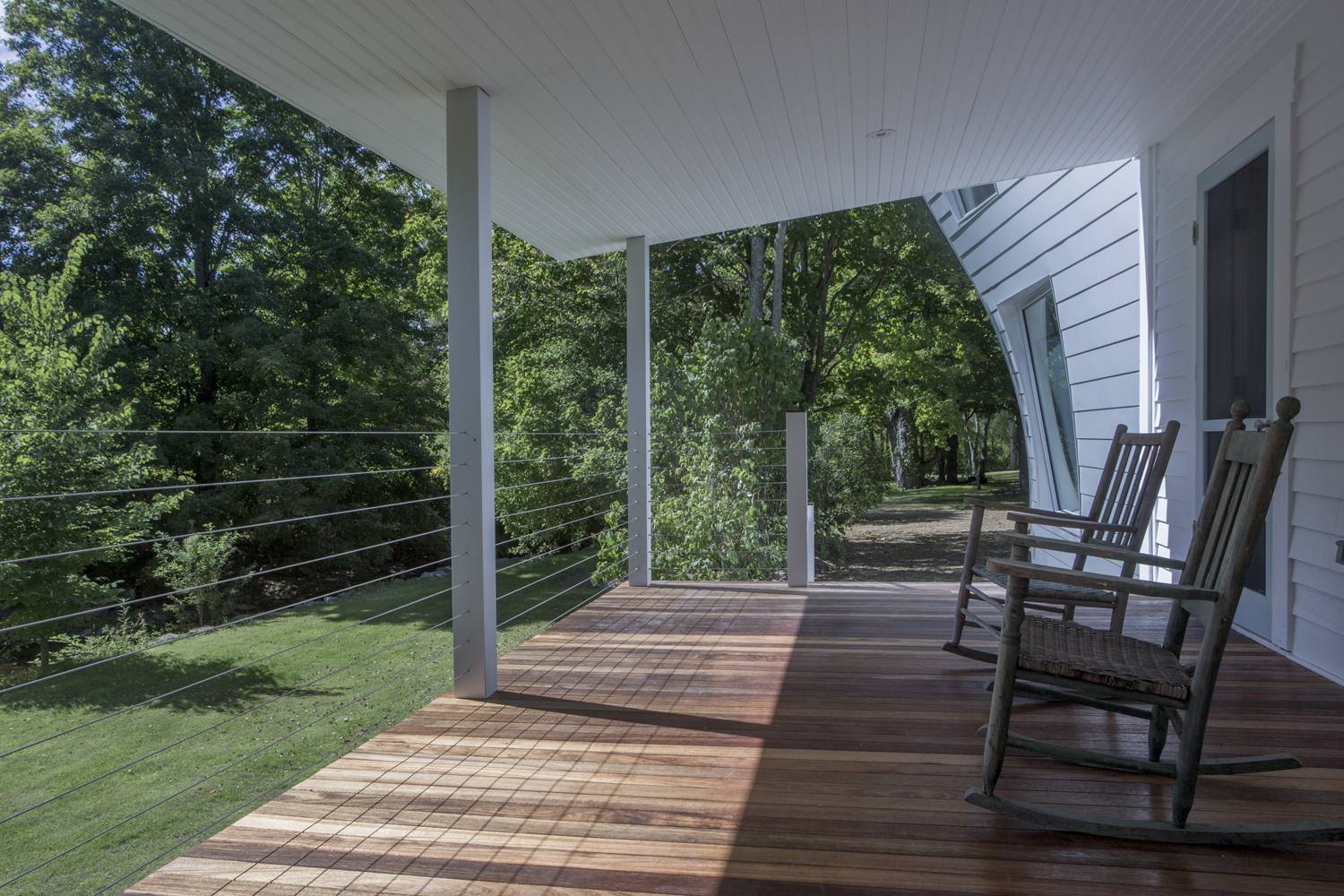 Tom Givone, designer of Twist Farmhouse in Dwell magazine and owner of the Floating Farmhouse in the Catskills, upstate NY.
