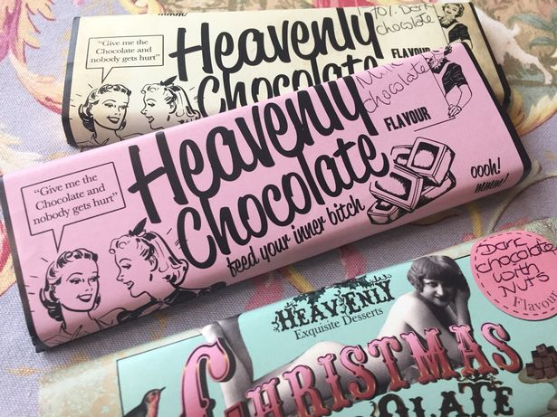 See the story about the 'vulgar candy bar' below.