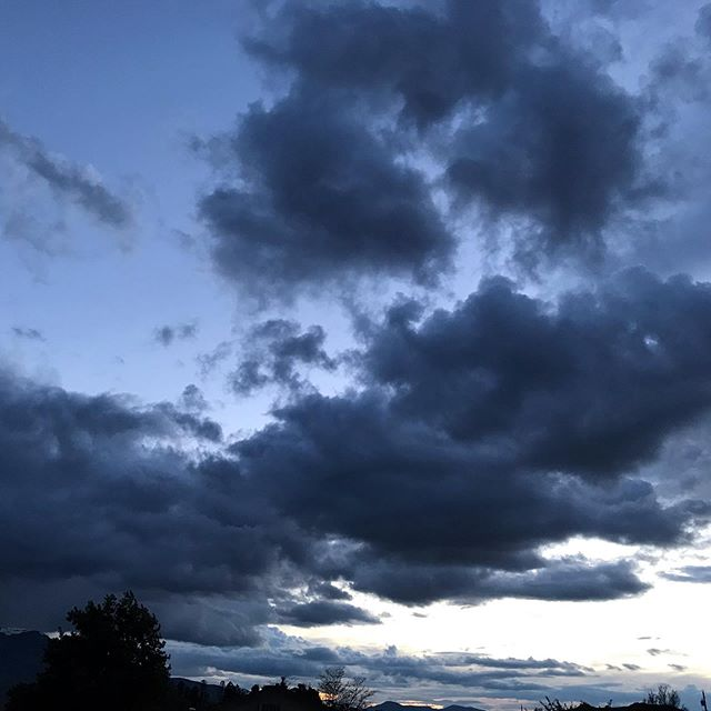 Evening #clouds