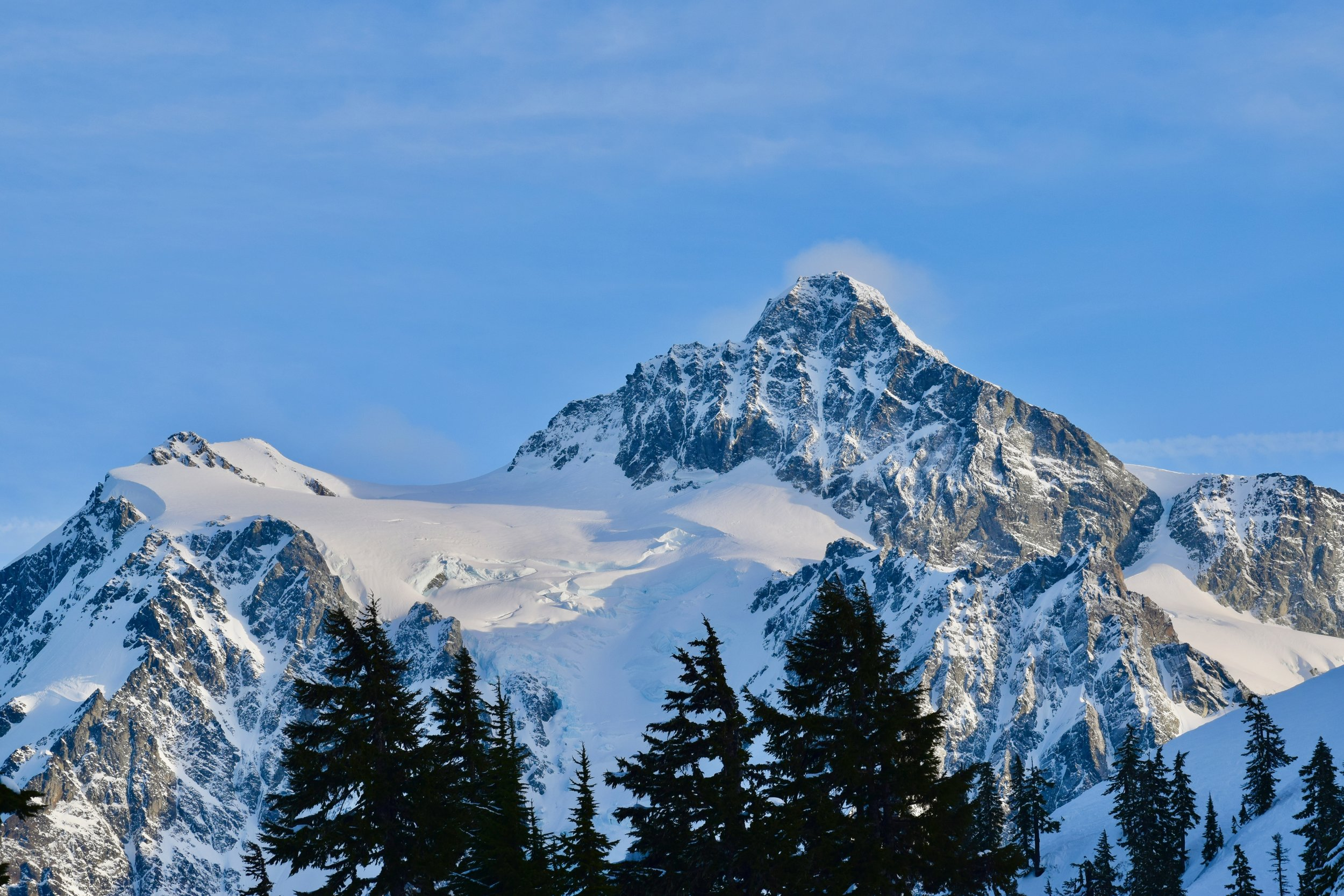 Mount Shuksan always inspires me with it's sheer beauty and obvious awesomeness.
