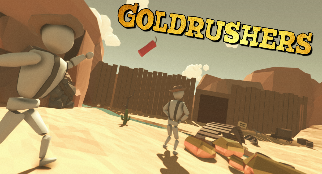 Western Chaos in GOLDRUSHERS