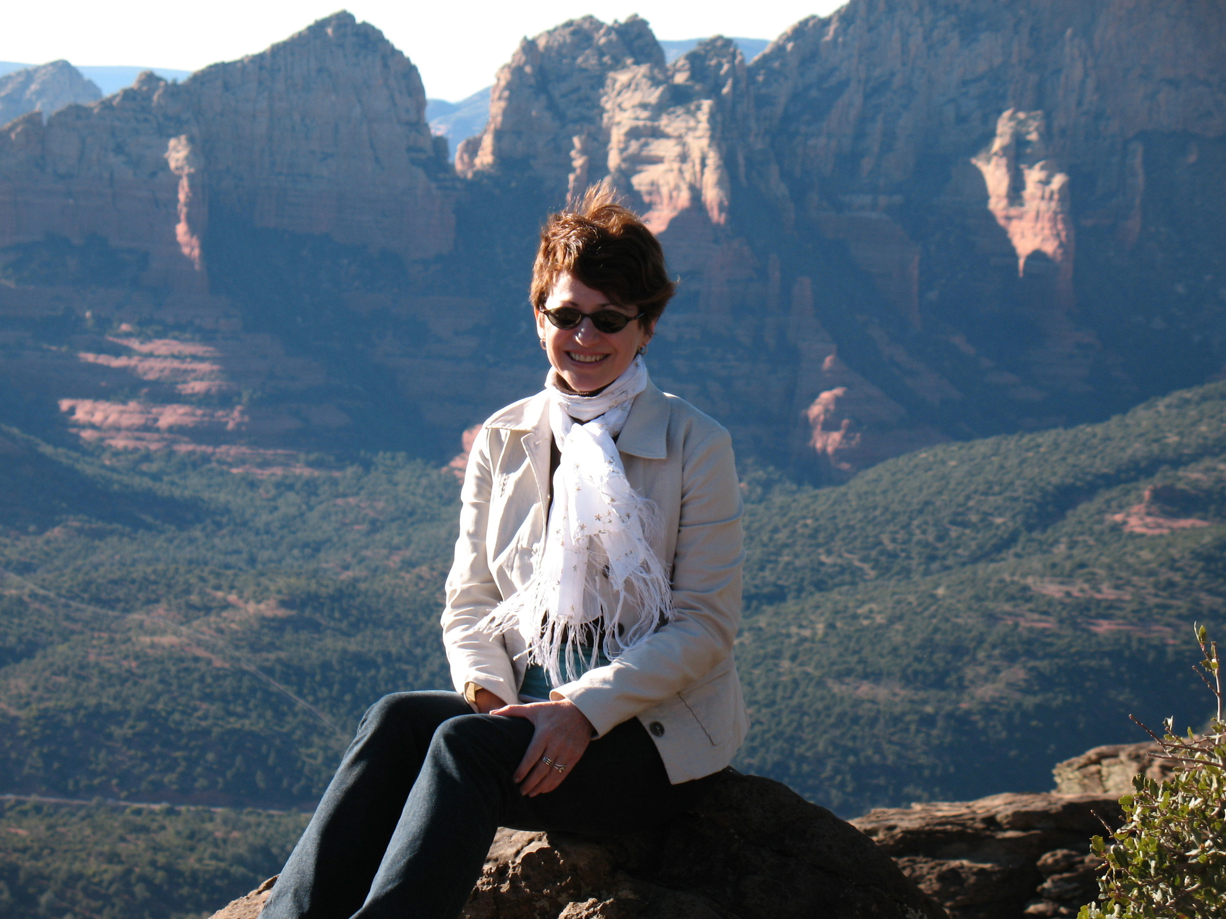 In my 'happy place' in Sedona, Arizona