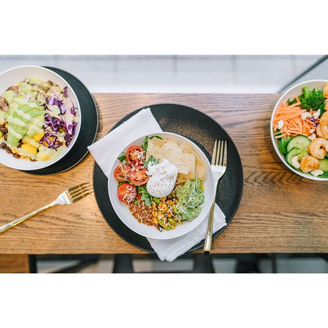 Good things come in threes. 😉😋 What's your go to ⬇️ .⠀ Jamaican Me Crazy Bowl ⠀ Rancheros Bowl ⠀ Thai Salad ⠀ .⠀ #staywise #eatwright⠀ .⠀ #blogto #toronto #eatto #toronto #yyz #yyc #yycliving #yyceats #yycfoodie #yycfood #yycfitness #yycbuzz #calgary #calgaryliving #calgarybuzz #culinary #food #healthyfood #healthyeating #foodies #culinary #original #realfooddaily