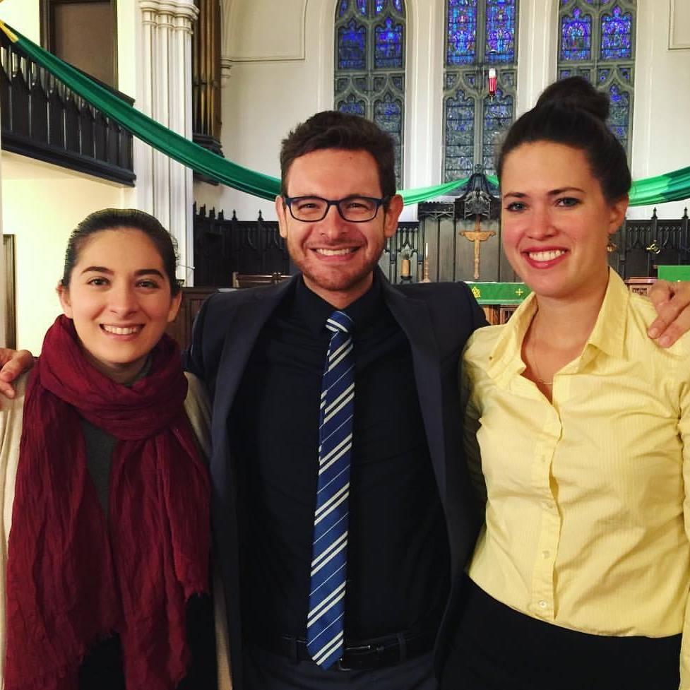 With Talar Khosdeghian and Lucy Duke