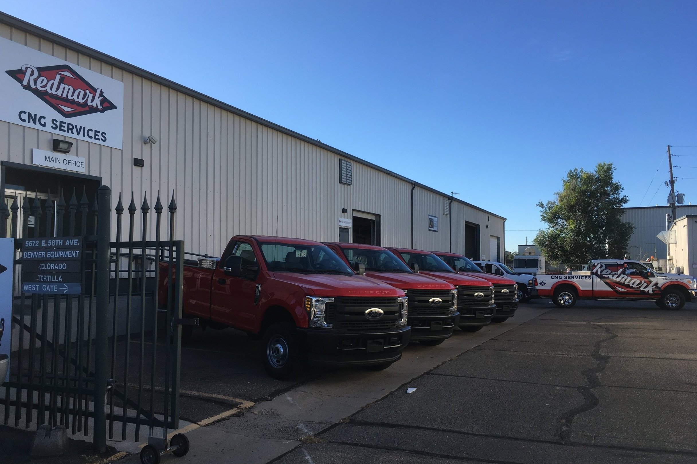 New Ford MY 2017 Vehicles, upfit under the Ford QVM Program at Redmark CNG; ready for delivery to the customer through Spradley Barr Ford for the City of Gunnison.
