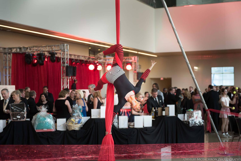 Impressive aerialist performance by Stardrop Circus