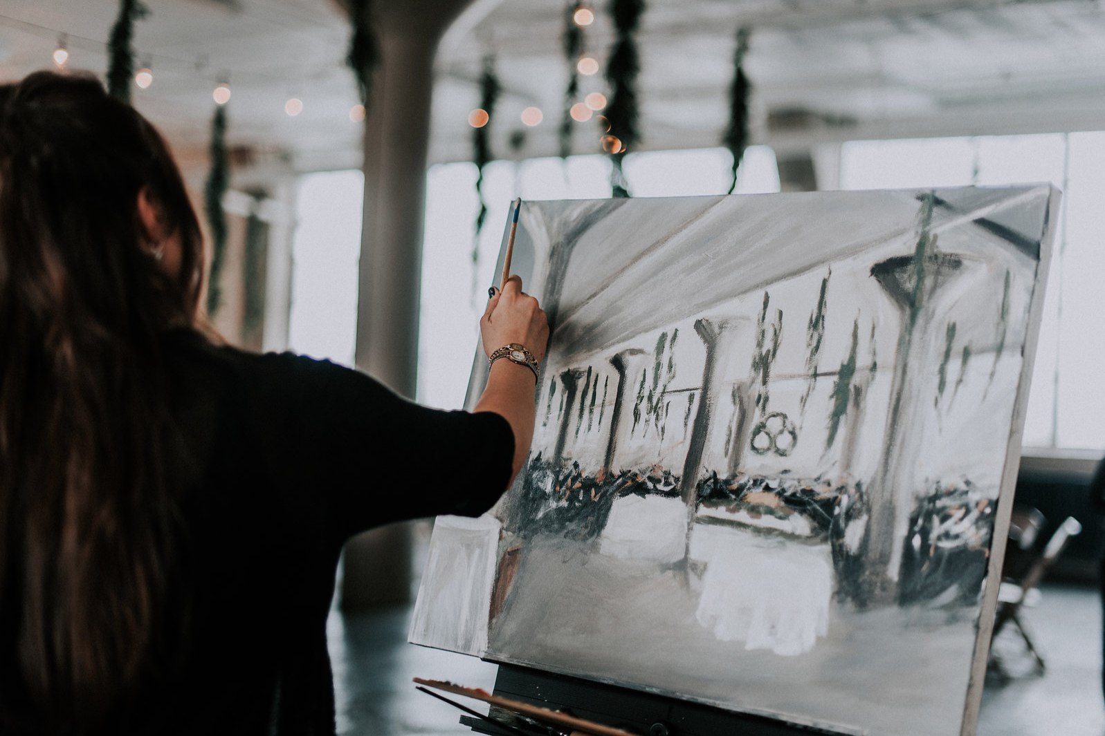 live wedding painting - lake erie building - 5.png