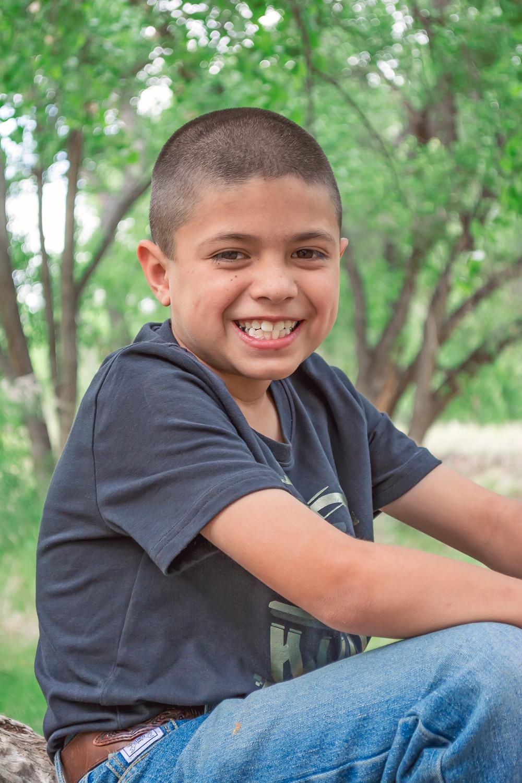 Childhood portrait, annual portrait, outdoor portrait, Los Lunas, New Mexico, Los Lunas River Park