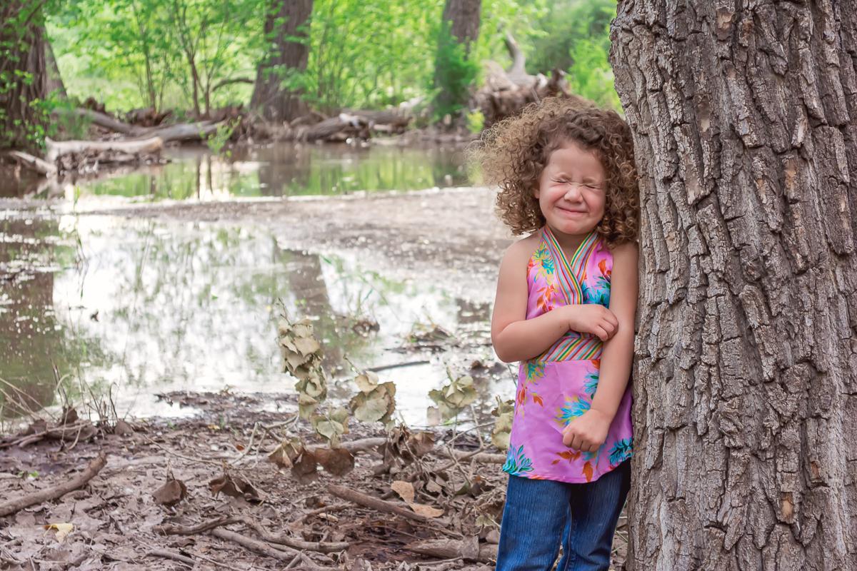 Children's Photo, Childhood, Outdoor Childhood, Outdoor Family Portraits, Cottonwood Forest, Albuquerque Photographer