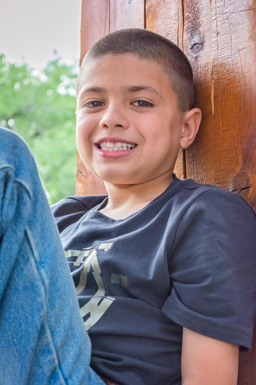 Boy Headshot, Boy Portrait, Outdoor Child Portrait, Childhood Photo, Family Portrait Session, Albuquerque Photographer