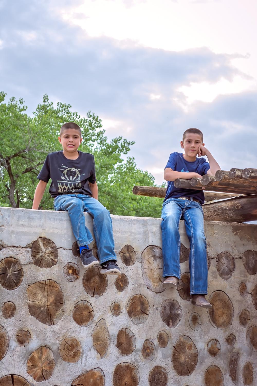 Childhood Portrait, Sibling Portrait, Family Photographer, Albuquerque Photographer, Outdoor Portrait Photographer