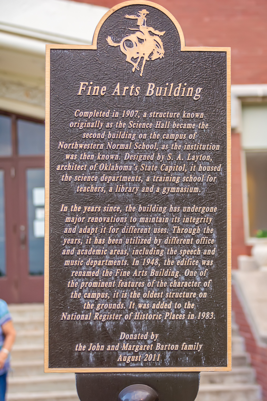 Historical Plaque, Northwestern Oklahoma University, Alva, Oklahoma, Red Brick Building, Historical Building, Family History, Albuquerque, New Mexico, Albuquerque LDS Photographer, Rio Rancho LDS Photographer