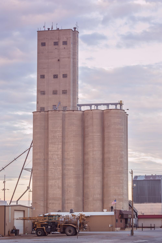 Grain Elevator, Alva, Oklahoma, Historical Building © Nicole Bradshaw Photography 2017