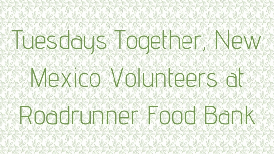 © Nicole Bradshaw Photography 2017; Tuesdays Together, New Mexico Volunteers at Roadrunner Food Bank; New Mexico Photographer, New Mexico Wedding Photographer, Arizona Wedding Photographer, Colorado Wedding Photographer, Texas Wedding Photographer