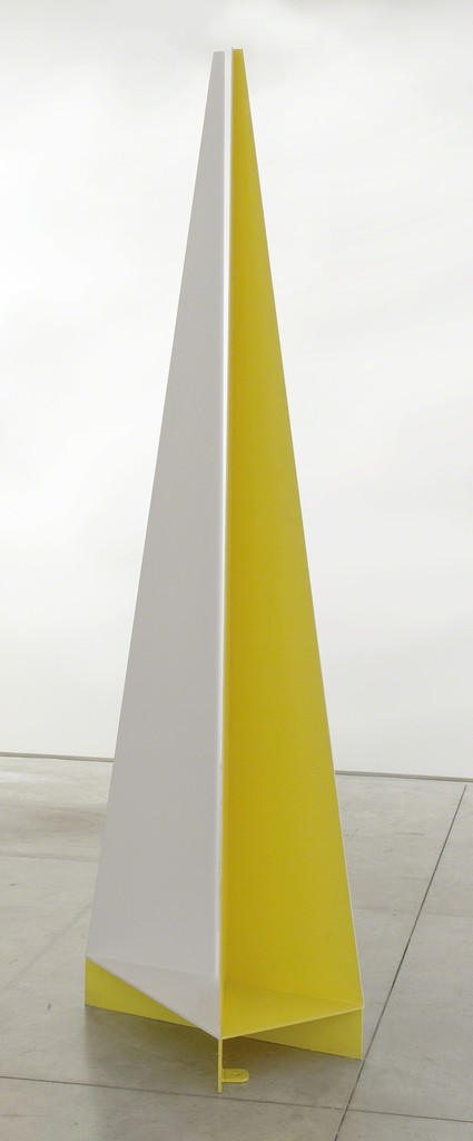 Vellas XII , 2007 Painted steel 76 5/8 × 21 5/8 × 12 7/8 in 194.6 × 54.9 × 32.7 cm