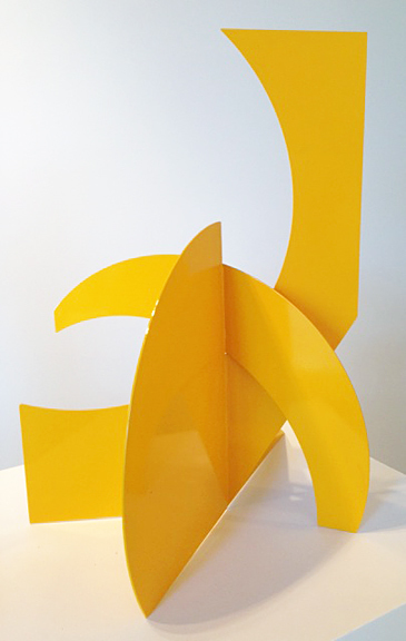 Mallorca II , 2012-2014 Powder coated steel sculpture 28 × 24 × 22 in 71.1 × 61 × 55.9 cm