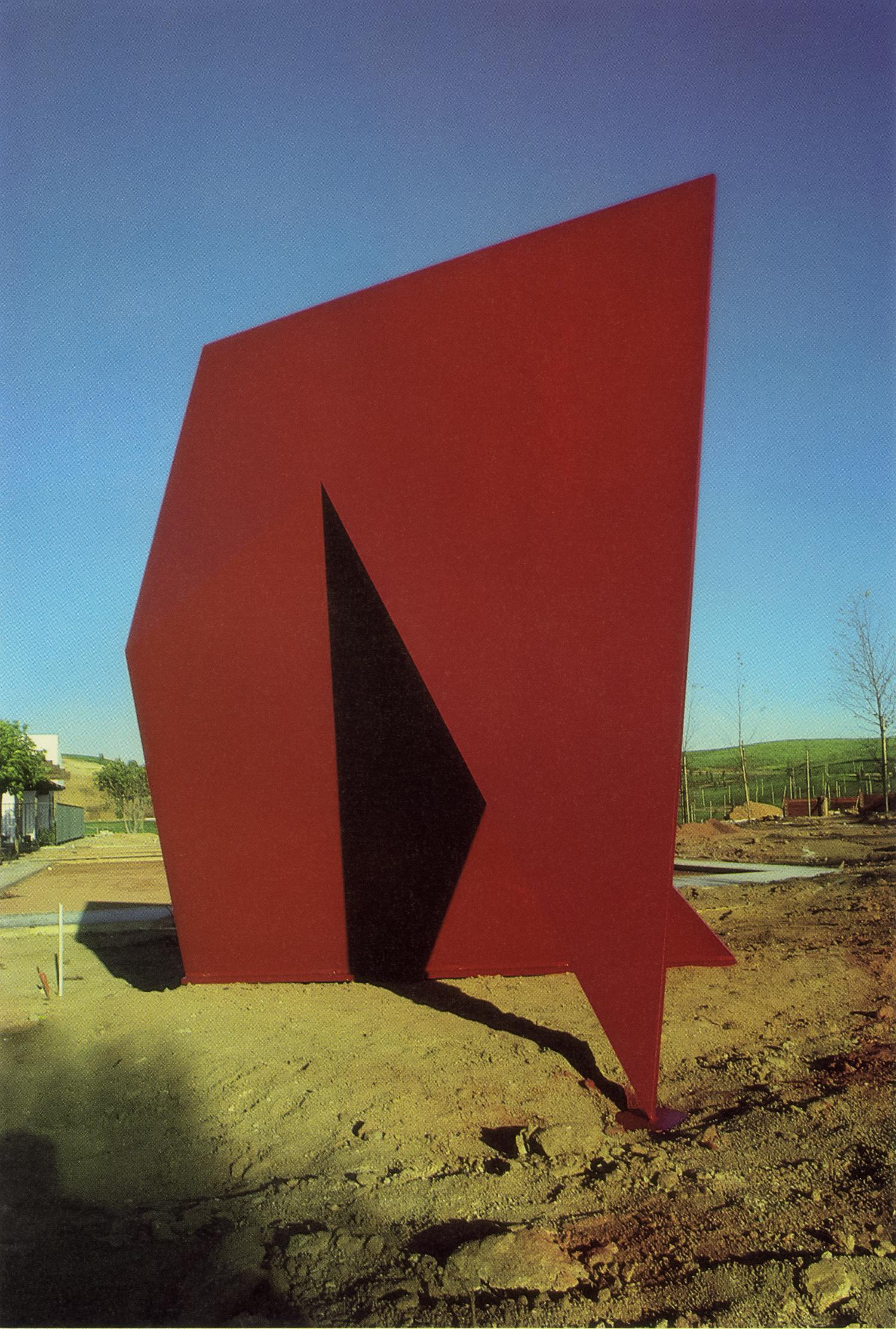 Leisure Village, Ocean Hills, California; 1984.  XXIII-A.  10' x 8' x 7'.