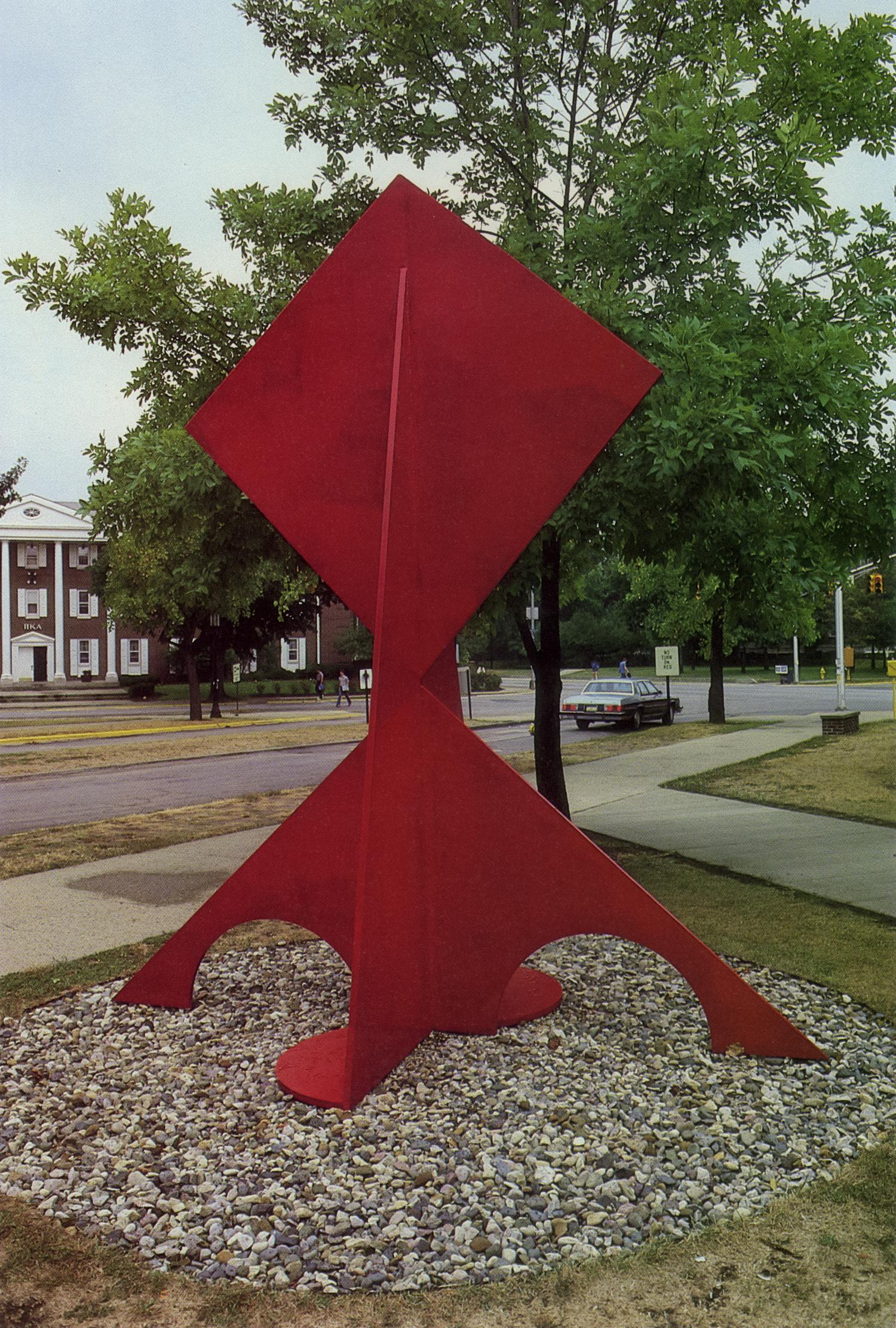 Purdue University, Lafayette, Indiana; 1986.  Kaikoo VI.  12.5' x 11' x 6'.