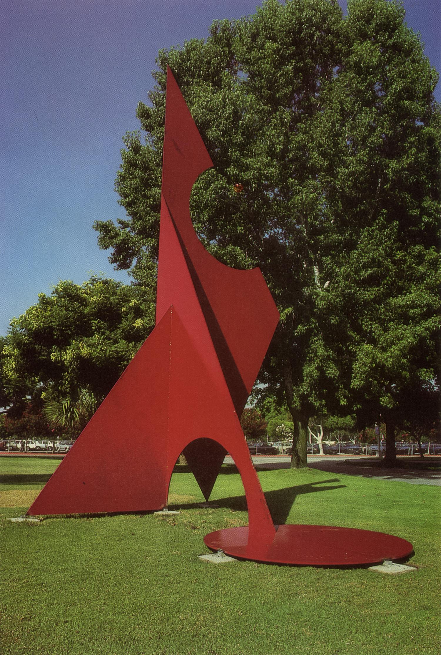 California State University, Fullerton, California; 1985.  Kaikoo XI.  21' x 13.5' x 13.5'.
