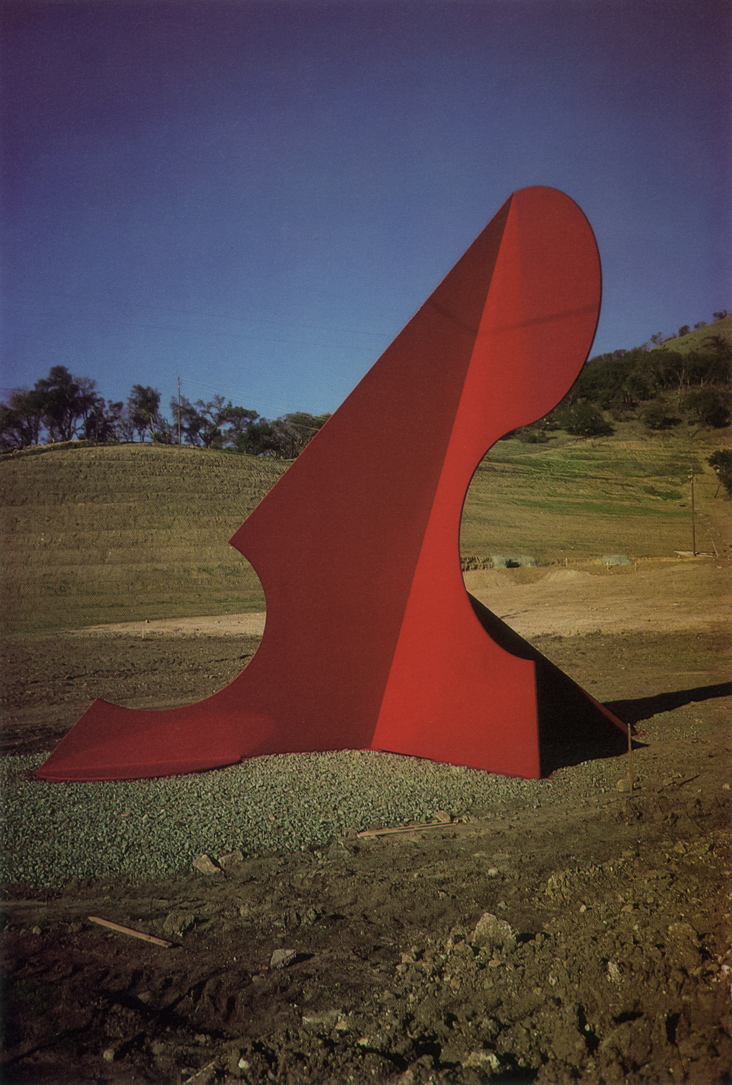 City of Palo Alto, Palo Alto, California; 1991.  Kaikoo V.  20' x 23' x 14'.