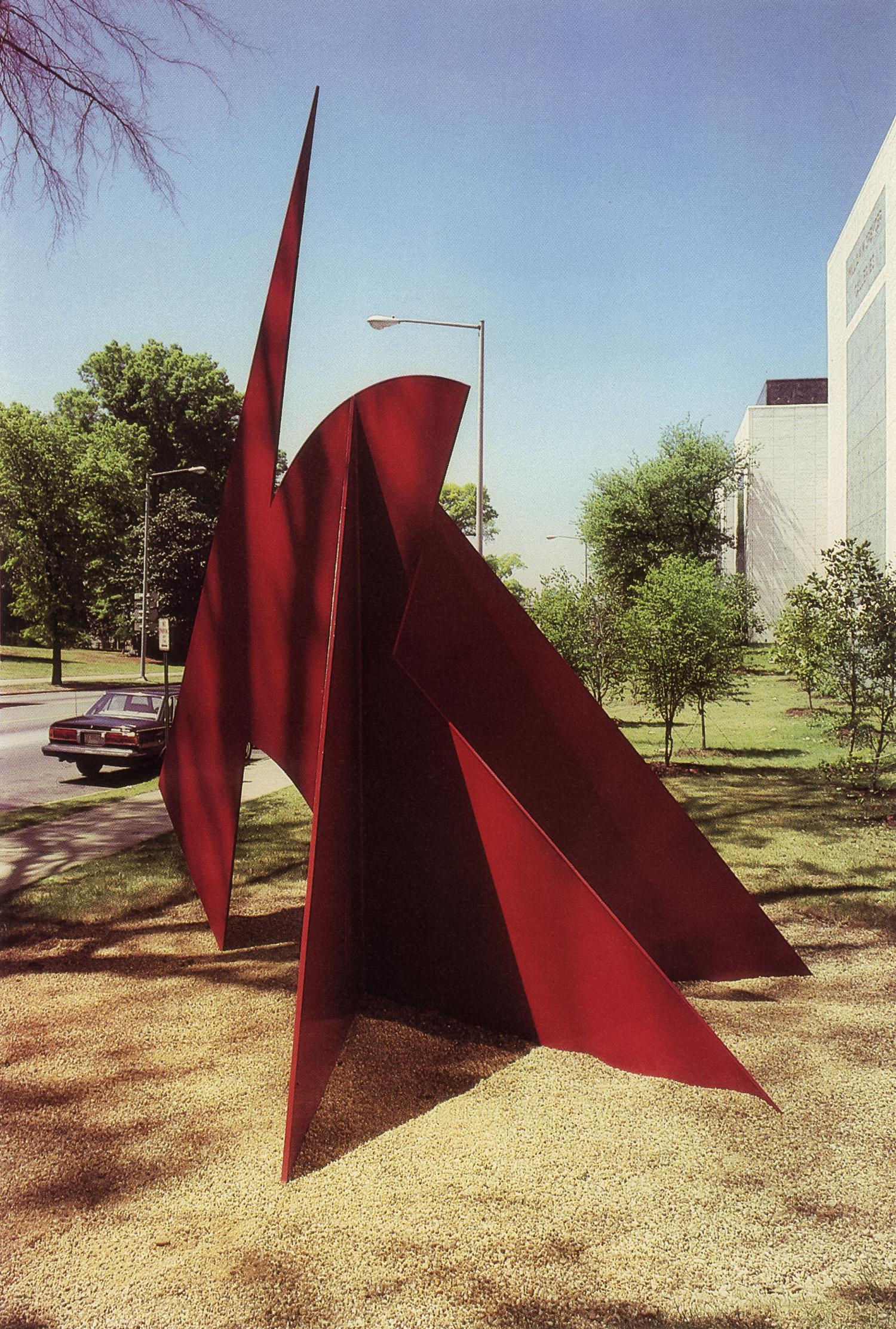 Birmingham Museum of Art, Birmingham, Alabama; 1986.  Kaikoo II.  16' x 13' x 12'.