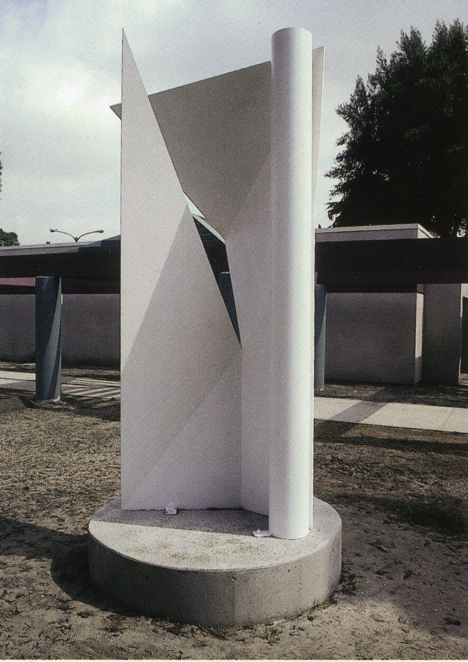 Downey Museum, Downey, California; 1993.  Atlas II.  10' x 5' x 5'