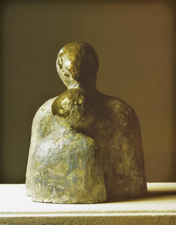 Amor, 1970.  Bronze.  27 x 22 x 16 cm