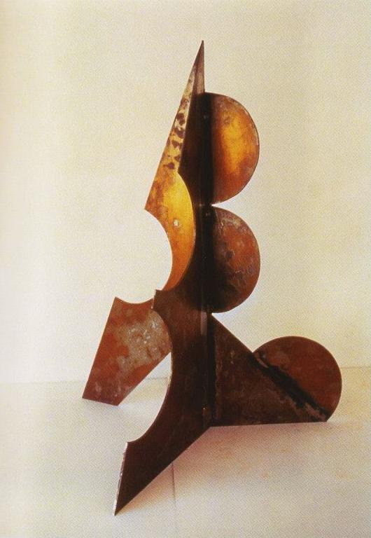 Santa Monica VIII, 1998. Acer. 56 x 41 x 43 cm