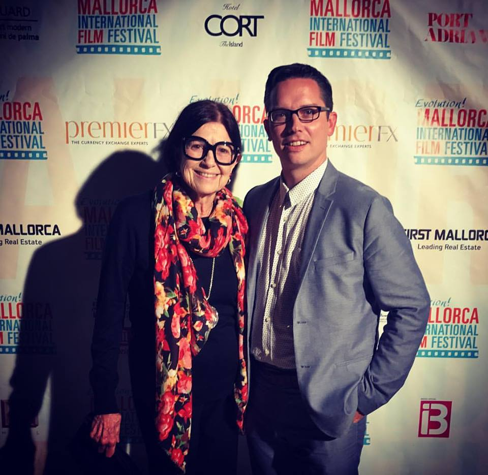 A night to remember...premiere of A Year with Betty Gold in Mallorca @evolutionmallorcafilmfestival Feeling grateful for many people and @elonuniversity that I can share this. -J McMerty