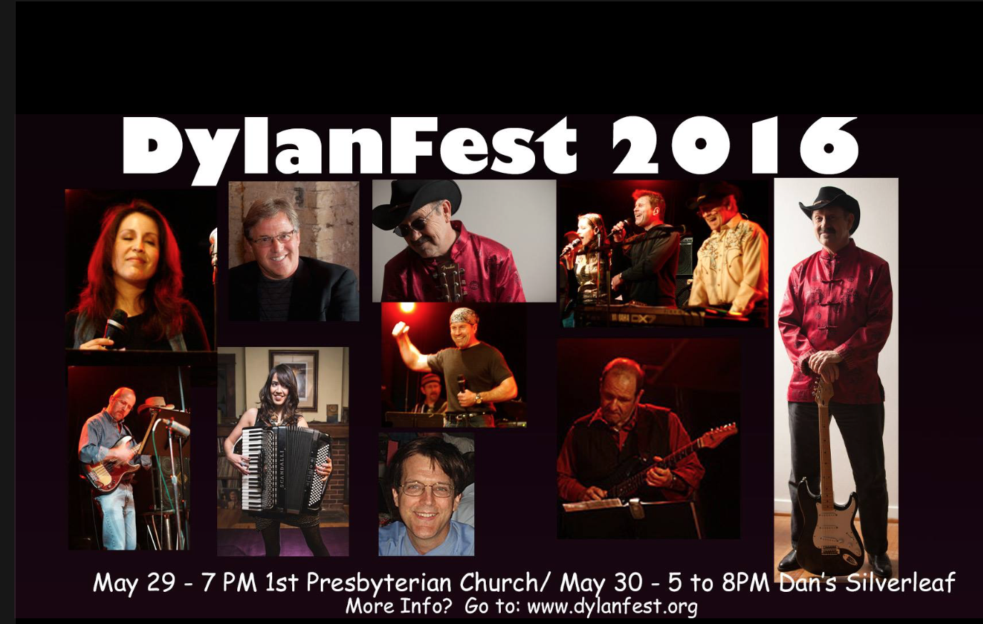 Come join us at Dylanfest this year!  Click on the image above for more details. Proceeds benefit Instruments of Change.  For more information go to: Dylanfest.org.