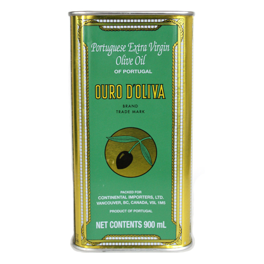 OURO D'OLIVA - TIN, 900ml