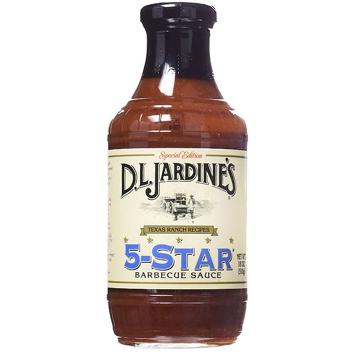 5 STAR BBQ SAUCE, 510g