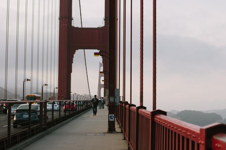 Golden Gate Bridge in San Francisco, photo by Laura Beam