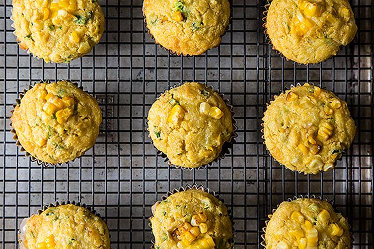 Quinoa Cheddar Corn Muffins via Food52 (GF)