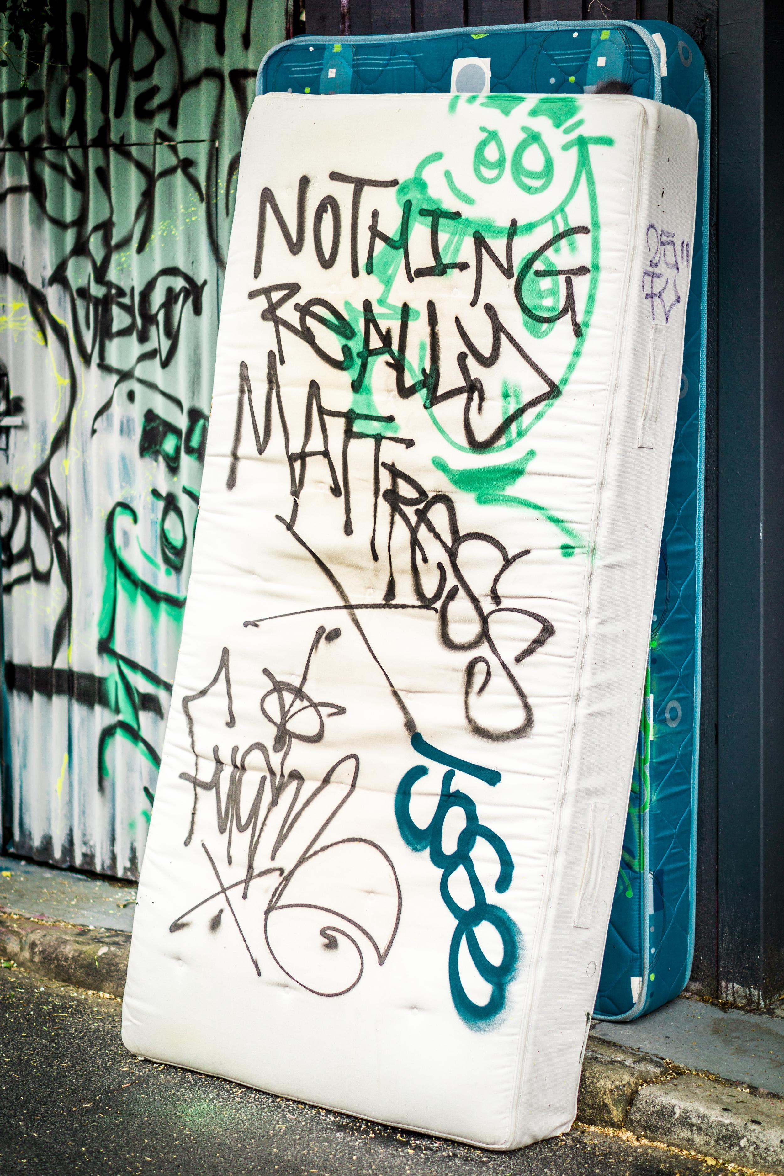 Sydney - St Peters - Street Art - Nothing Really Mattress.jpg