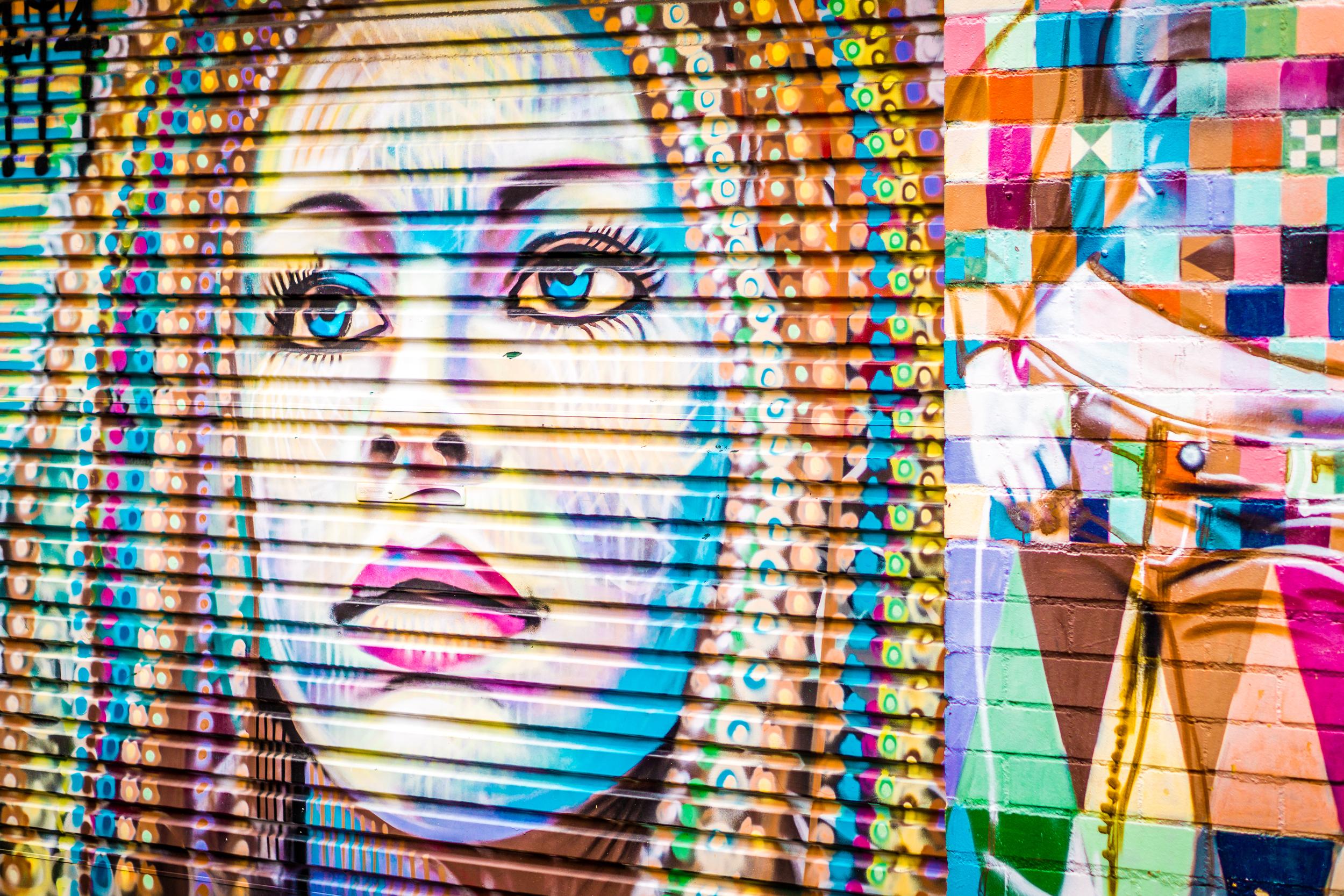 Sydney - St Peters - Street Art - Roller Girl.jpg