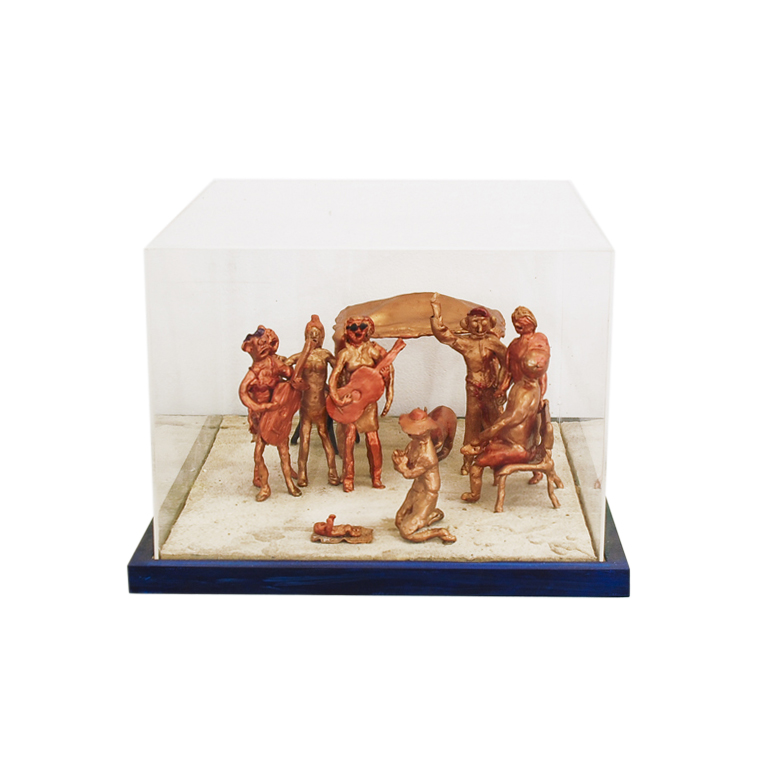 Fraser Island Nativity (after Nativity 1470-5 Piero della Francesca)