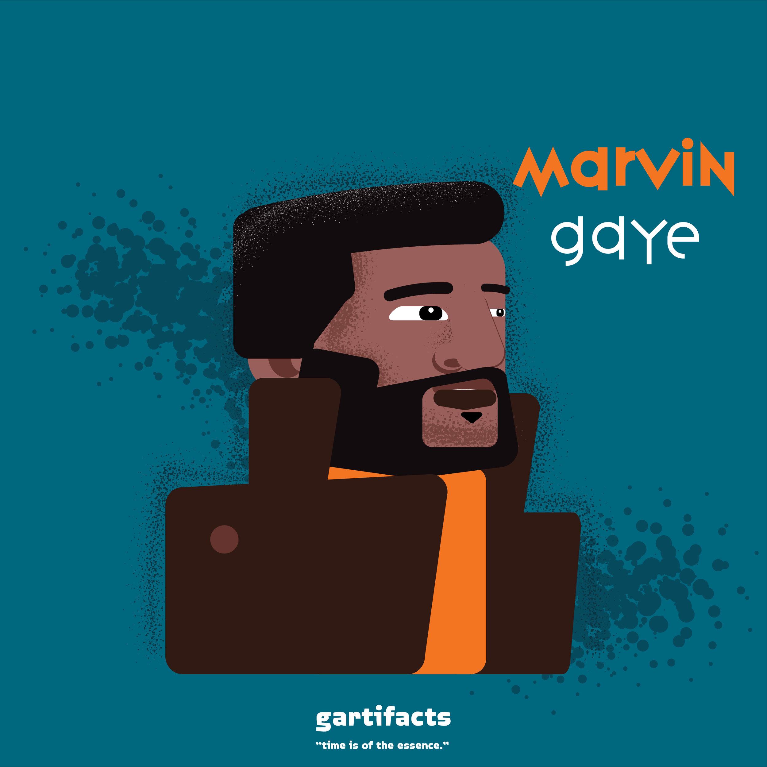 Digital Artwork: Ode to Marvin Copyright Gartifacts 2018