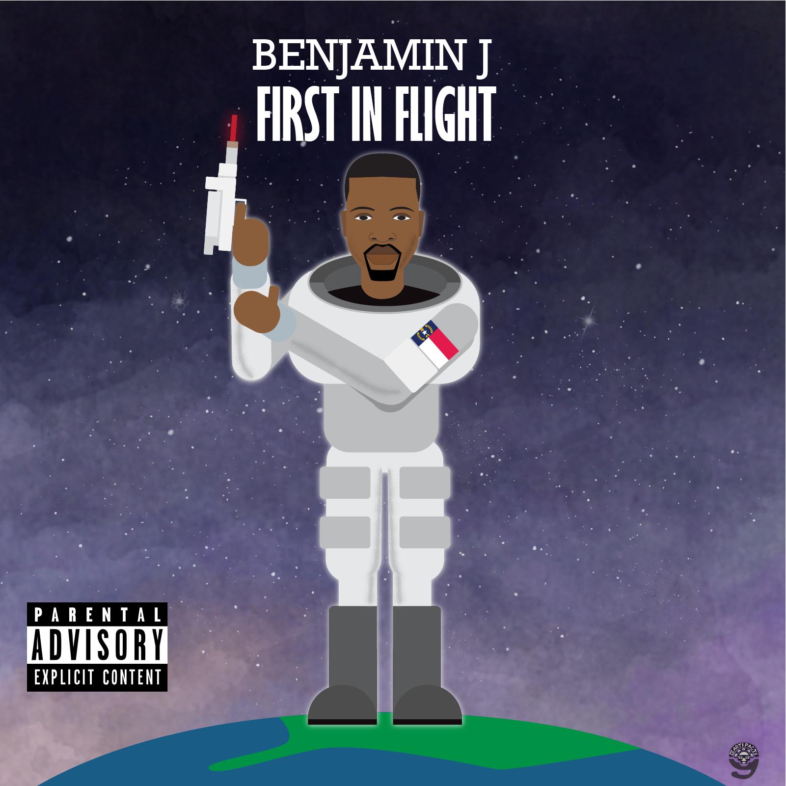 ALBUM COVER ARTWORK: DIGITAL ART Client: Benjamin J Copyright Gartifacts 2018